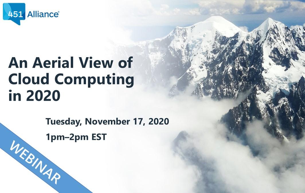 WEBINAR: An Aerial View of Cloud Computing in 2020
