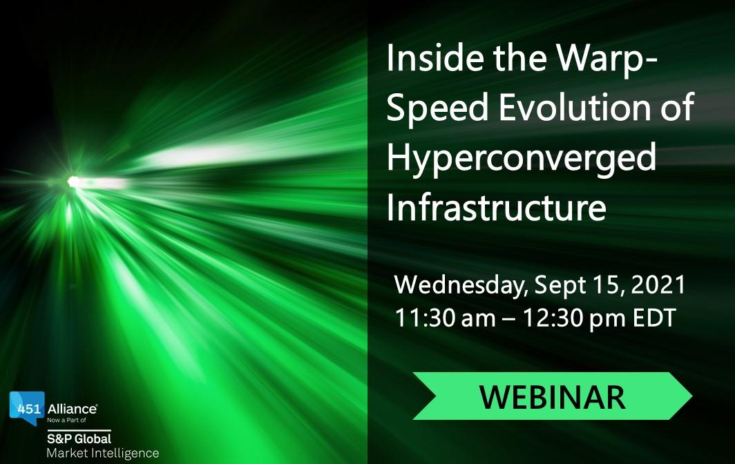Inside the Warp-Speed Evolution of Hyperconverged Infrastructure